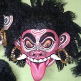 Red Demon  Tachaka Chhau Mask