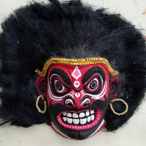 Red Demon - Mahishasura mask