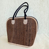 Banana Fibre Curve Bag