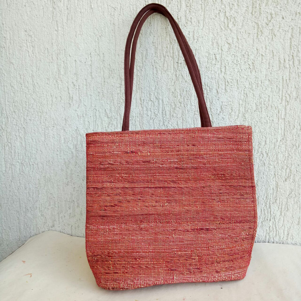 "Banana Fibre ""U"" Bag"