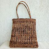 Banana Fibre V Crochet Bag