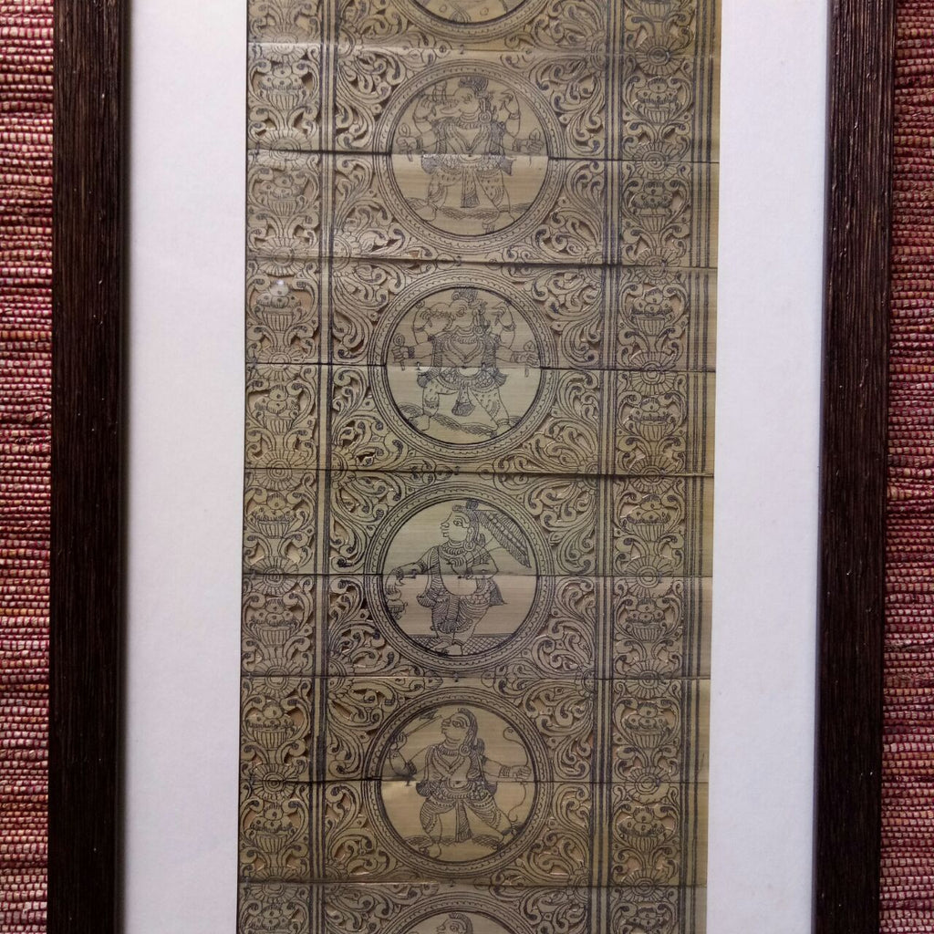 Dashavtar 2 :: Palm Pattachitra