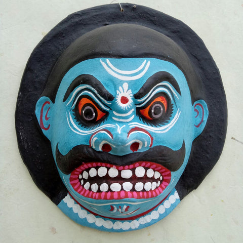Blue Demon - Mahishasura mask Small
