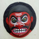 Red Demon - Mahishasura mask Small