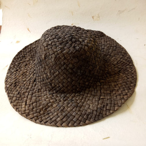 Water Hyacinth Floppy Hat Natural Dye