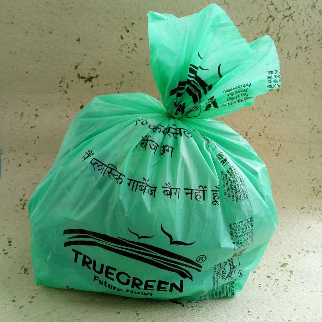 Compostable Garbage Bags Made From Corn Starch