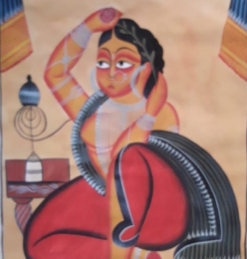 A Courtesan with Hookah