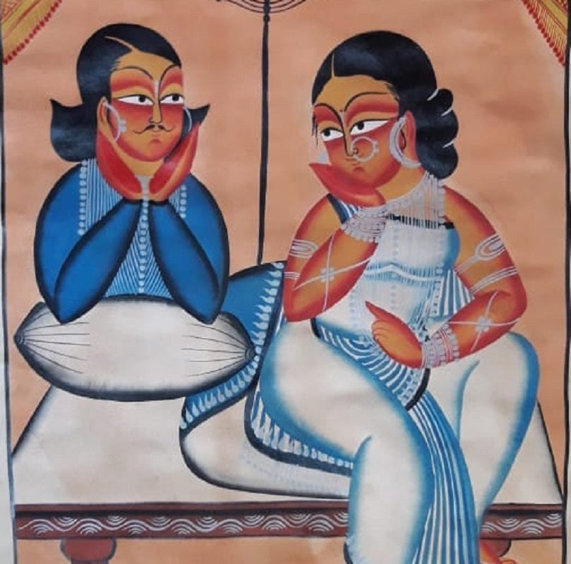 Babu with a Concubine