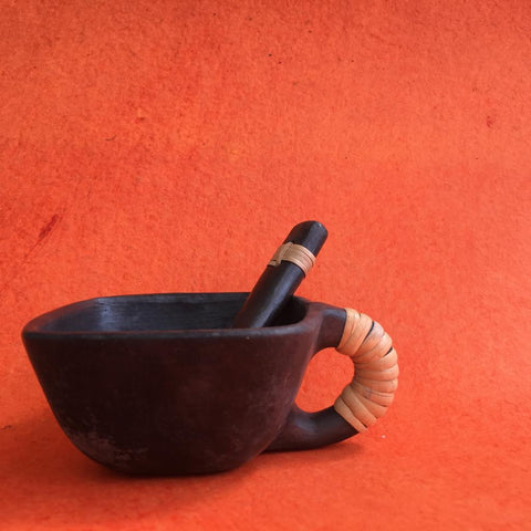 Square Soup Bowl And Spoon