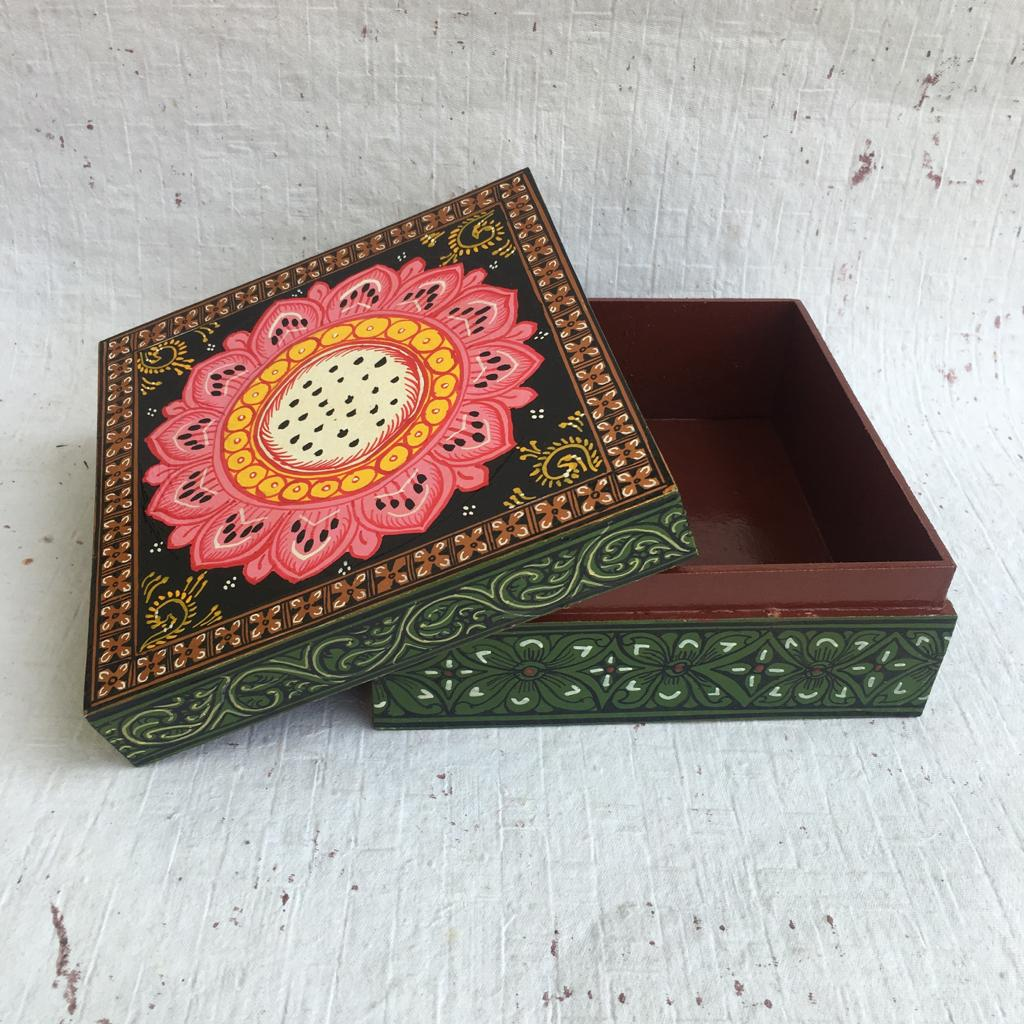 Pattachitra Trinket Box