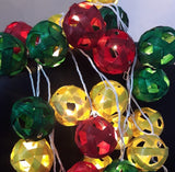 Bamboo Ball String Lights