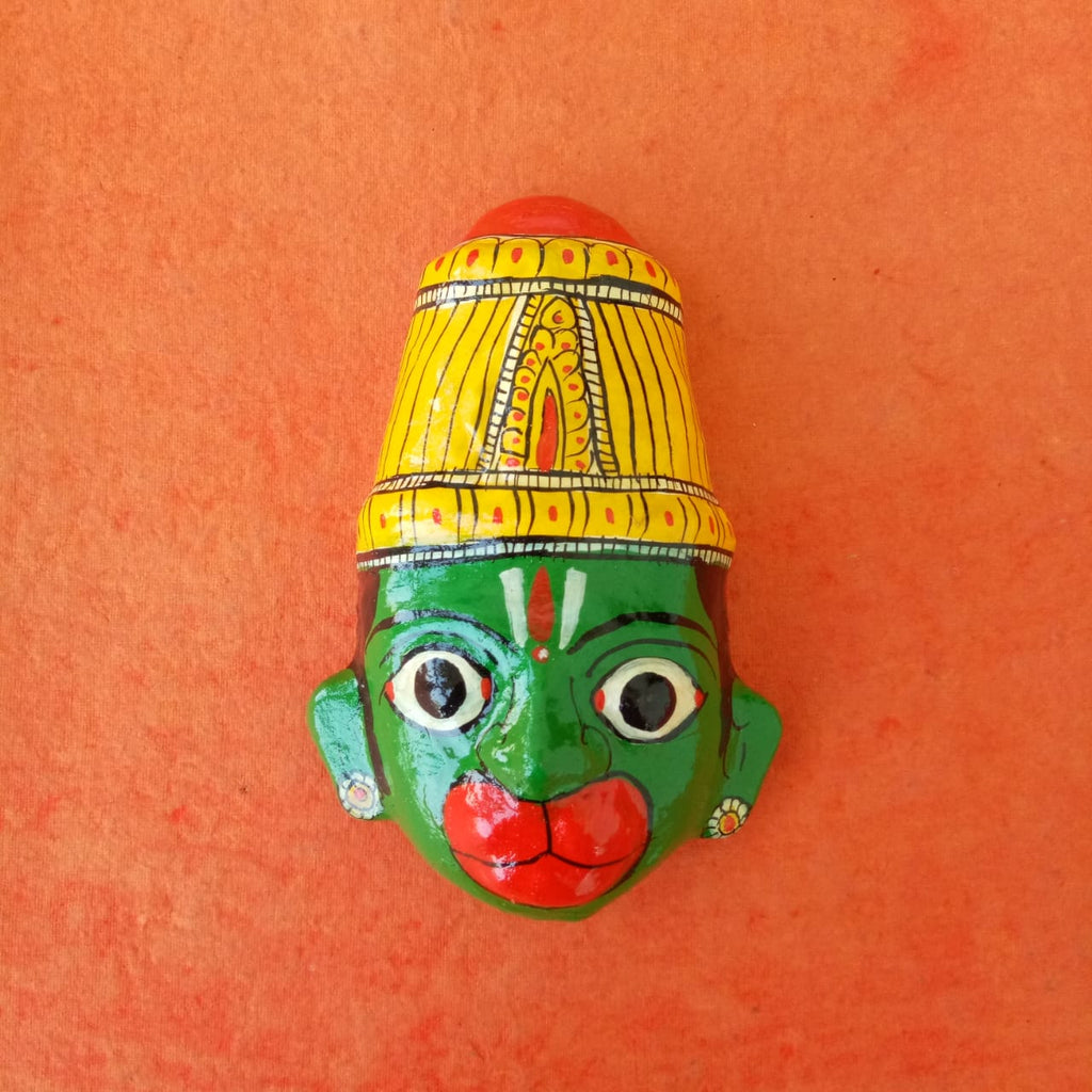 Hanuman Cherial Mask Small