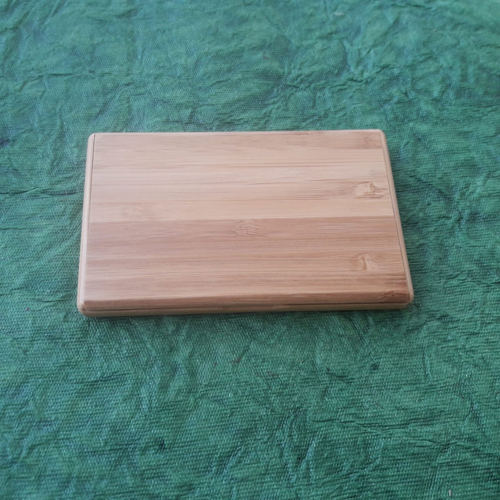 Bamboo Card Holder