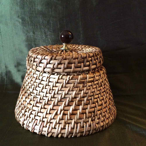 Conical Bucket Box With Lid (Small)