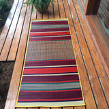 "Pattamadai Pai- Korai Grass Silky Mats (L) with Customize - 70"" x 36"""
