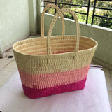 Palm Leaf Leisure Basket