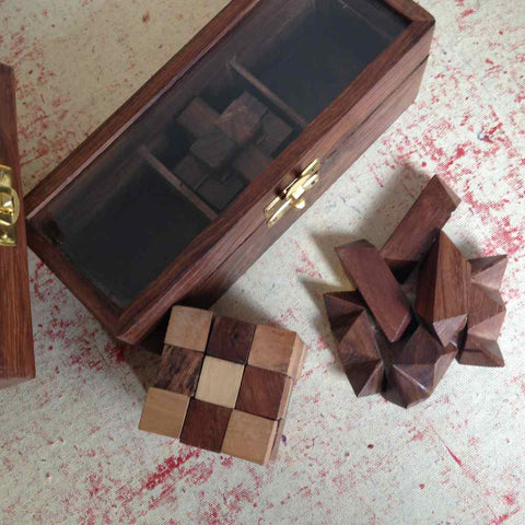 Set of 3 Puzzles Games