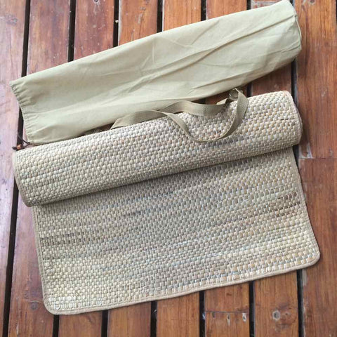 Water Hyacinth - Yoga Mat with Bag