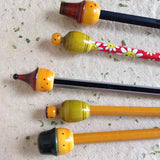 Pencil Tops :: Set of 5