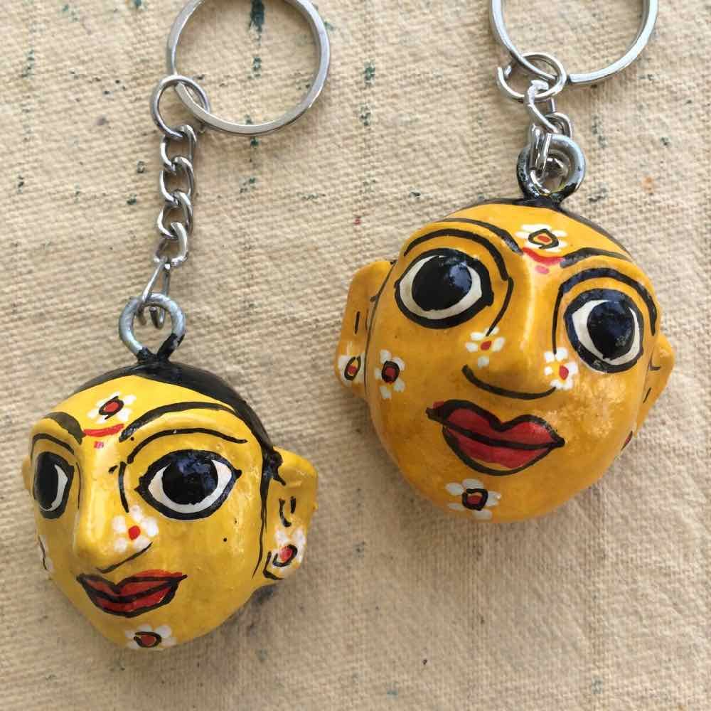 Cherial Masks Key Chain