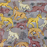 Deer - Pattachitra on Silk