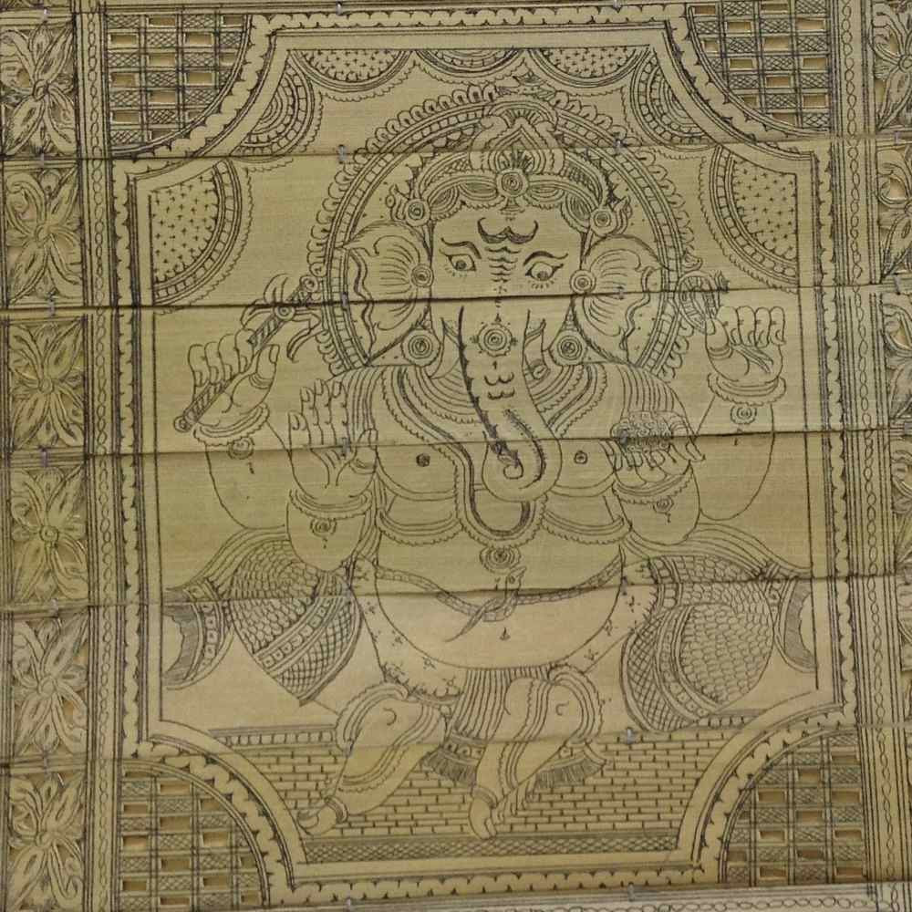 Ganesha - Palm Pattachitra