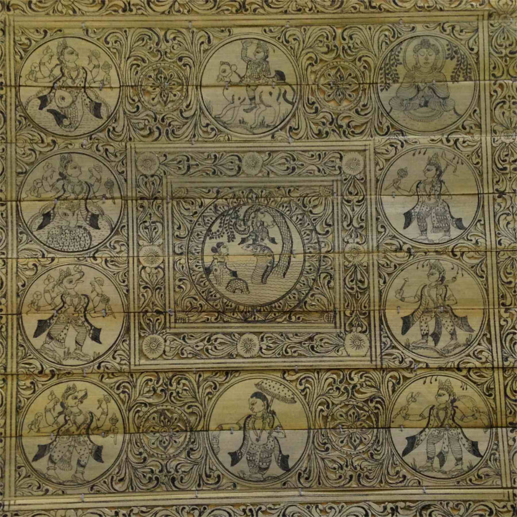 Dashavtar :: Palm Pattachitra