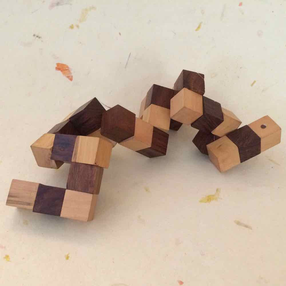 Snake Cube Puzzle small