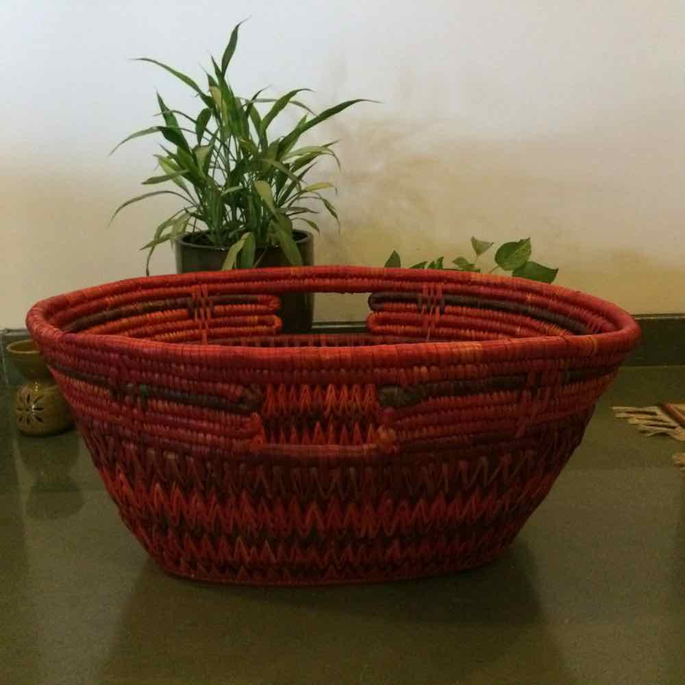Sikki Grass Laundry Basket- Big
