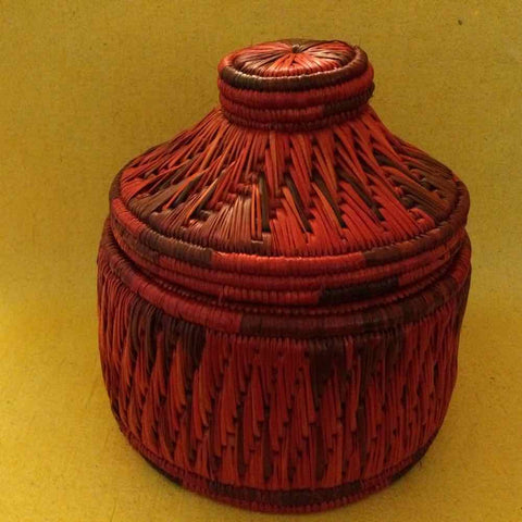 Sikki Fruit Basket With Lid