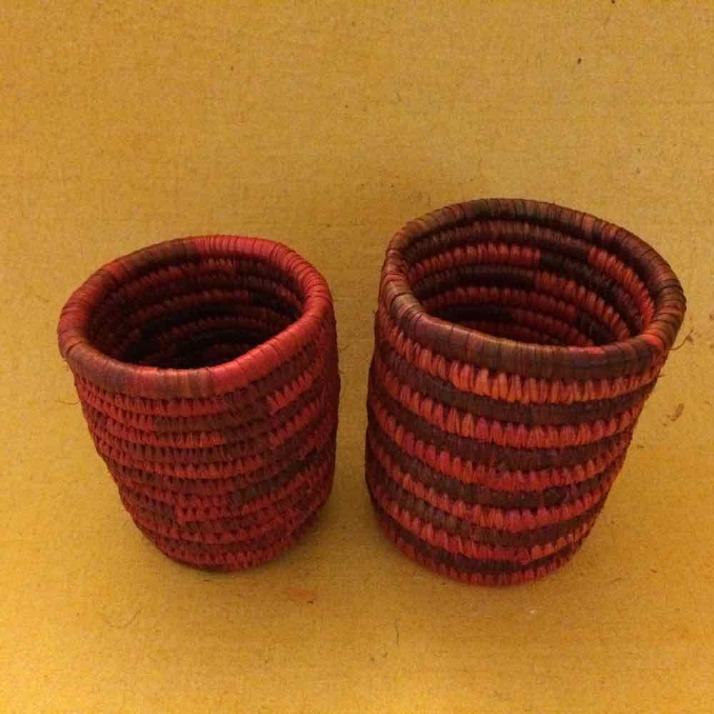 Sikki Grass Pen Holders Set