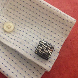 Bidri Cufflinks Square