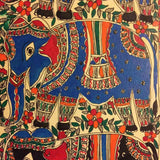 'Group of Elephants'- Madhubani Painting