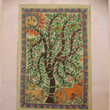 Tree of Life - Madhubani Painting