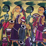 Harvest Celebration Santal Painting