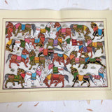 Galloping Horse Pattachitra Painting