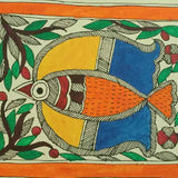 Pair of Birds- Madhubani Painting