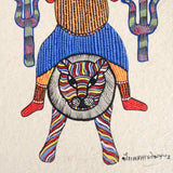 Tribal God Gond Painting