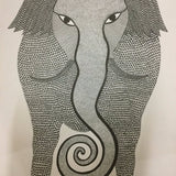 Haathi - Gond Painting