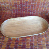 Acacia Woodenware Oval Tray