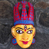 Wooden Durga Mask