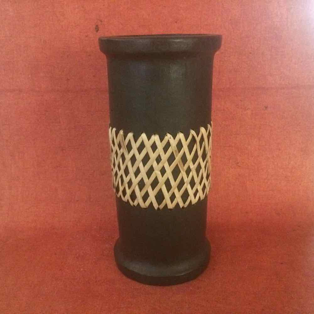 Vase Cane Weave on Centre