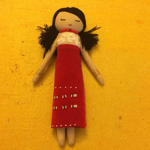 Phom Tribal Fashion Doll