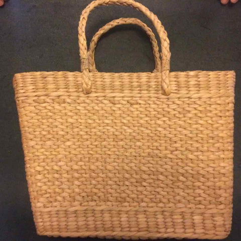 Handcrafted Kauna Reed Market Bag Large