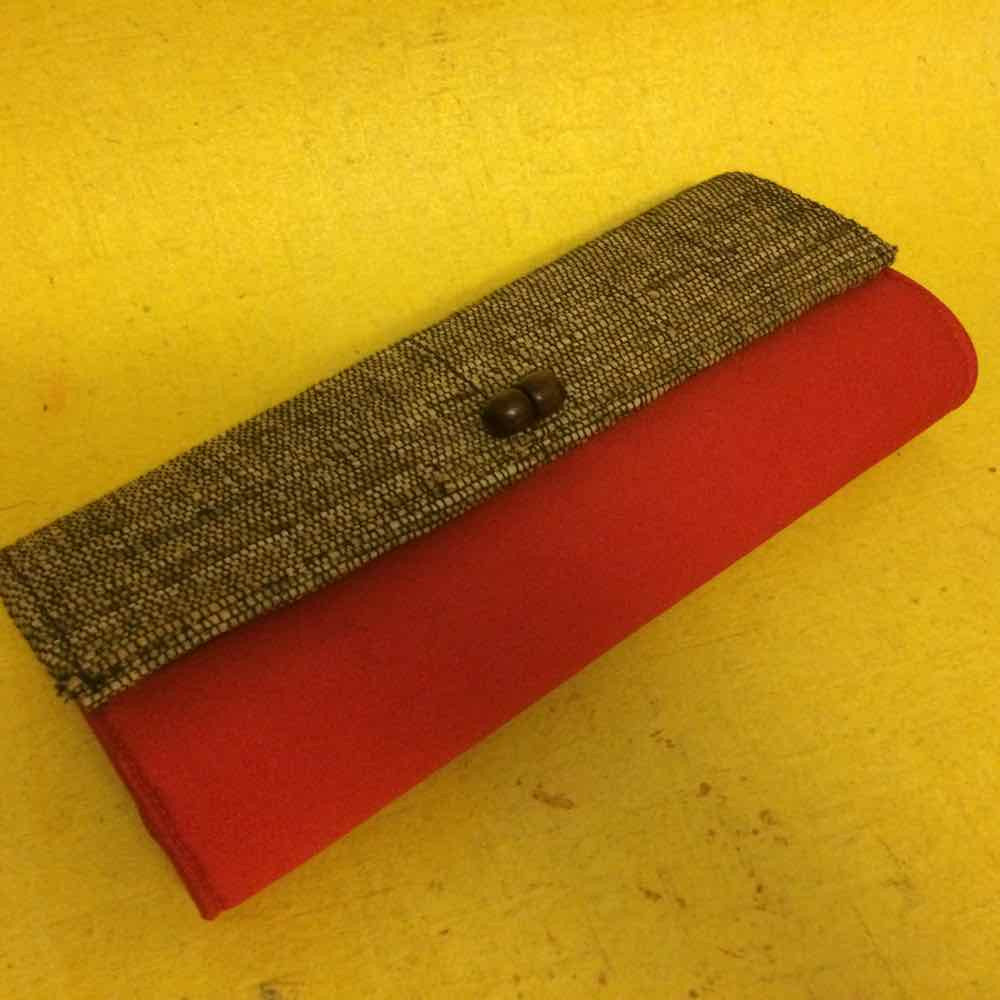Banana Fibre Plain CLUTCH 10""