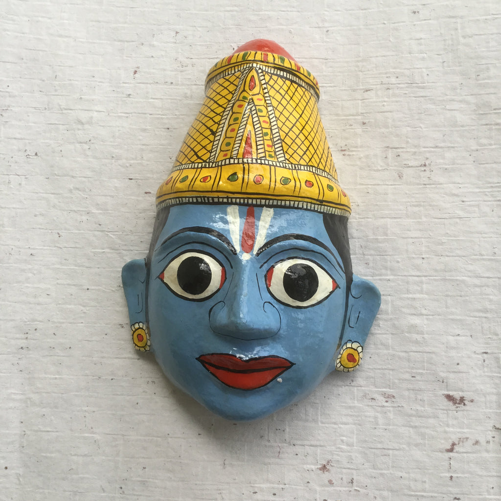 Rama Avatar of Vishnu Cherial Mask