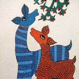 Nurtured by Nature Gond Painting 1