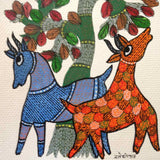 Nurtured by Nature Gond Painting 3