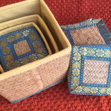 Sitalpati Square Box (Set of 4)