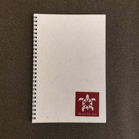 Handmade Paper Conference Pad-A5